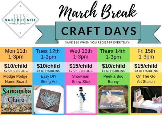 March Break DIY Days - On The Go Art Station