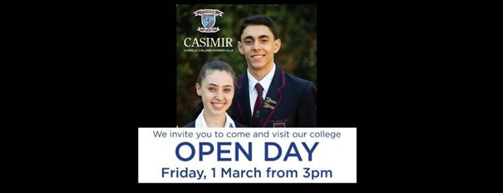 Open Day - 1 March 2019