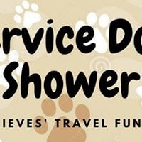 Dog Shower for the Nieves Assistance Dog Travel Fund
