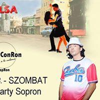 Salsa Party Sopron - SalsaConRon