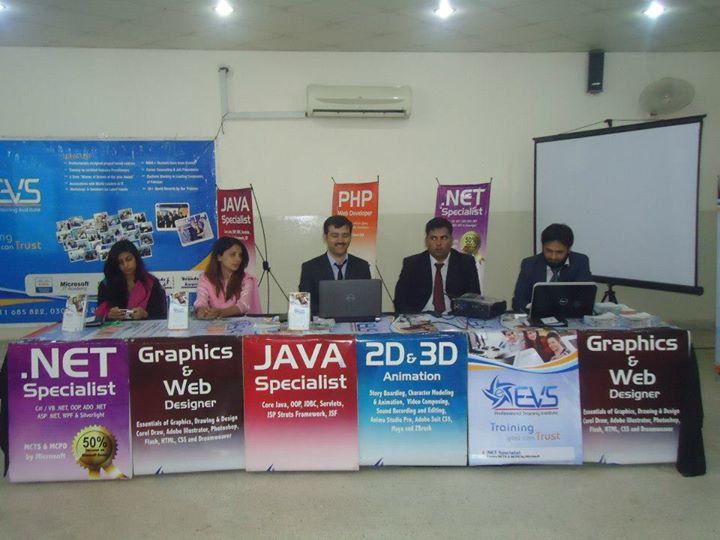 Image result for EVS Professional Training Institute Lahore