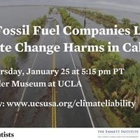 Holding Fossil Fuel Companies Liable for Climate Change Harms