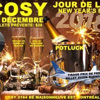 COSY Party Jour De LAn New Years Eve Dec 31