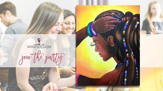 Paint Night With Wine Design Lettie At Wine Design Newport