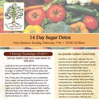 14 Day Sugar Detox A New Year A New You