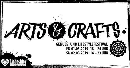 Arts & Crafts I Genuss- und Lifestylefestival I Eintritt FREI