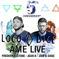 5TH Anniversary with Loco Dice and me (live)