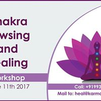 Chakra Dowsing &amp Healing Workshop - June 11 2017