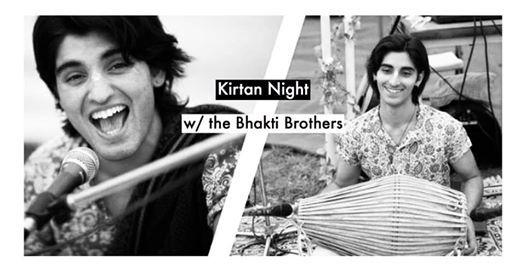 Chanting Night w the Bhakti Brothers