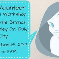 Teen Volunteer Animation Workshop