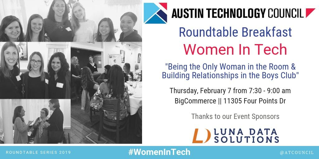 Austin Technology Council Roundtable Women in Tech  Feb 7