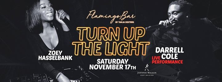 Flamingo Bar  Turn Up the Light. Darrell Cole & Zoey Hasselbank