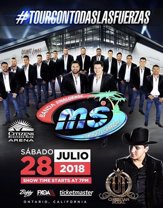 Banda MS Y Cristian Nodal en Concierto