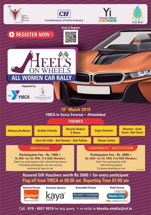 Heels On Wheels- All Women Car Rally