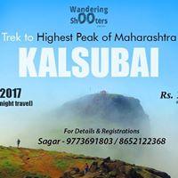 Trek to Kalsubai on 23rd July 2017