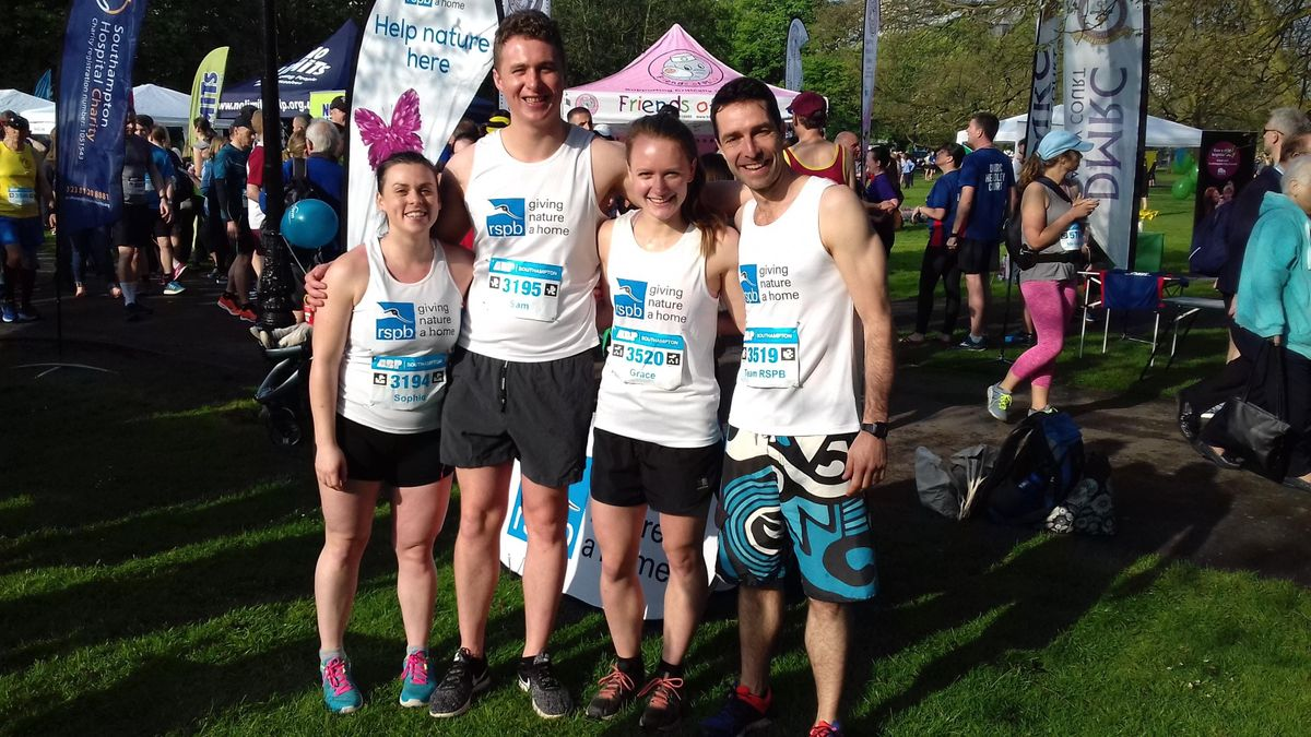 Team RSPB Southampton Half Marathon