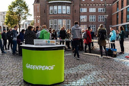 Become a Greenpeace volunteer