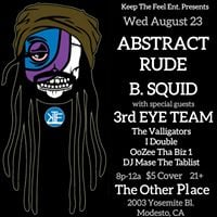 Abstract Rude live in Modesto
