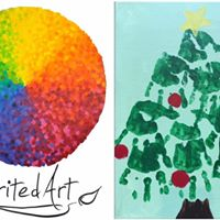Preschool Picasso Christmas Tree