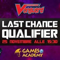 Last Chance qualifier di Vanguard - 10