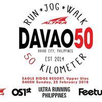 Run Jog Walk Davao50 - 50 Km and 24 Km Categories