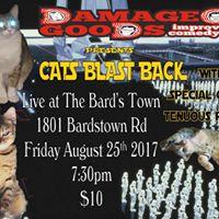 Damaged Goods Presents Cats Blast Back