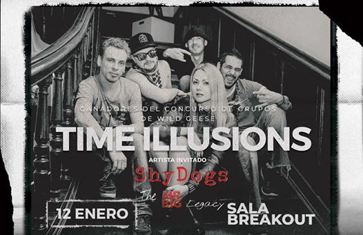 Time Illusions  Shy Dogs Breakout Sabadell