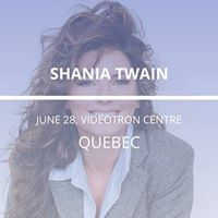 Shania Twain in Quebec
