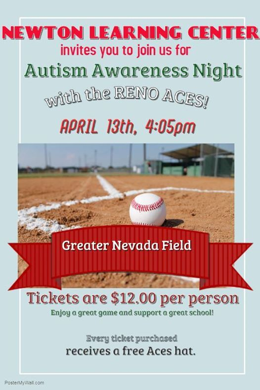 Autism Awareness Night with the Reno Aces at Greater Nevada Field250 ...