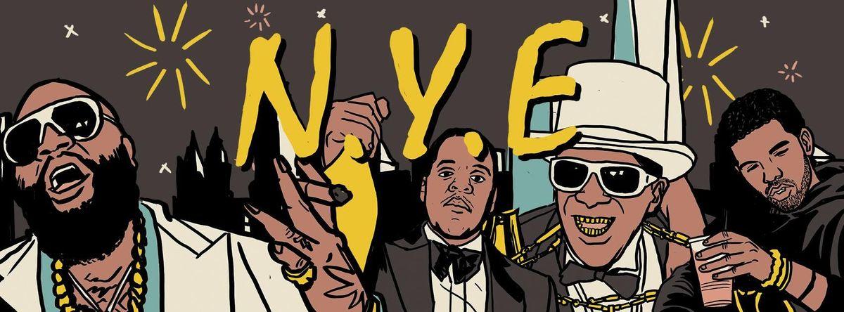 Gin & Juice NYE Hip Hop Party