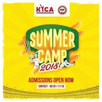 Kyca Karnataka Youth Cricket Academy-2018 Admissions Open Now