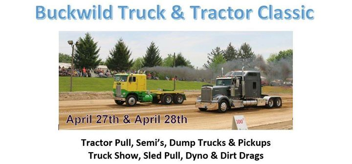 Buckwild Truck & Tractor Classic at Carroll County Ag Center