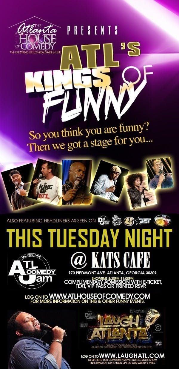 ATLs Kings of Funny at Oak Comedy Lounge