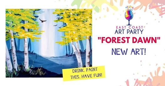 Art Party 0328 Forest Dawn - Charlottetown
