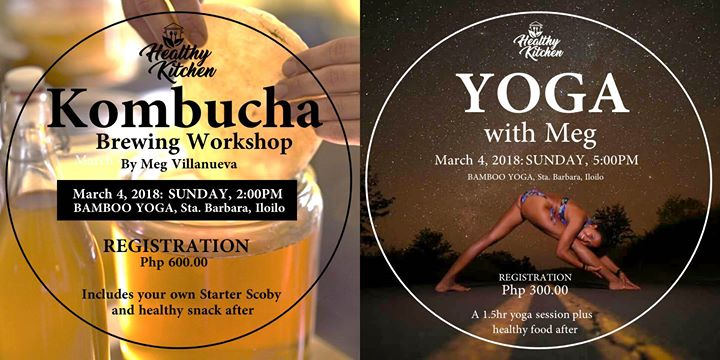 Yoga Kombucha Brewing With Meg Villanueva At Bamboo Yoga Iloilo