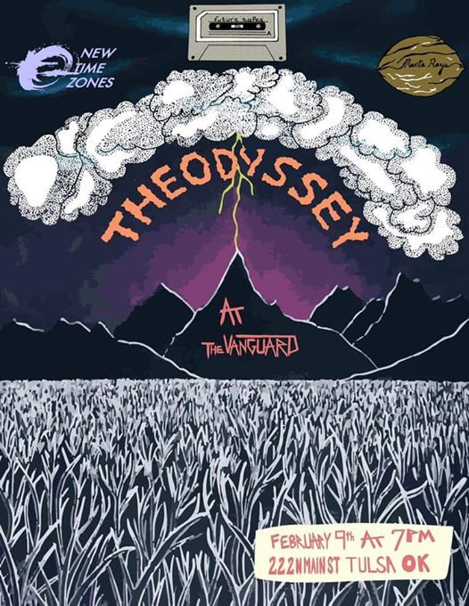 Tulsa Ok Time Zone >> The Odyssey Ep Release At The Vanguard Tulsa222 N Main St Tulsa