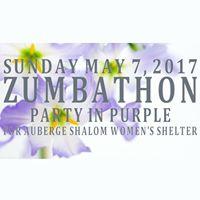 Zumbathon en Violet pour Auberge Shalom