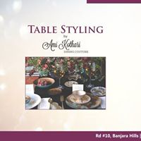 Table Styling Workshop by Ami Kothari