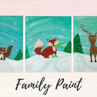 Holiday Cheer - Family Paint - 15 per canvas