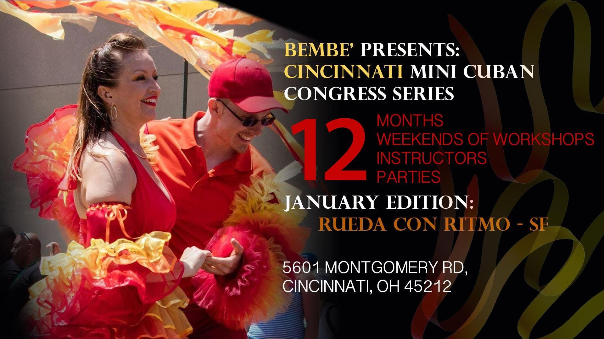 Bembe Cincinnati Cuban Masters Series w Rueda con Ritmo