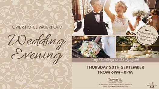Tower Hotel Wedding Evening
