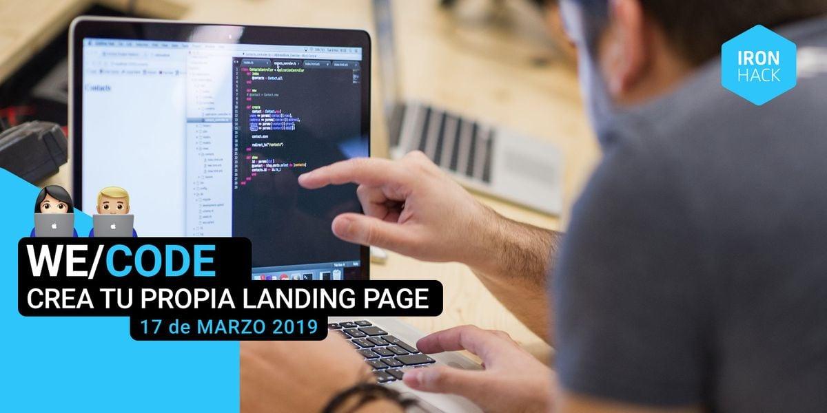 WECODE  Programa tu propia Landing page