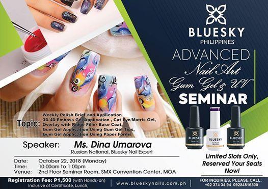 Advanced Nail Art Seminar At Beauty Professional Philippines Quezon