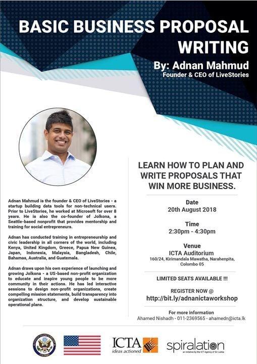 basic business proposal writing by adnan mahmud at spiralation