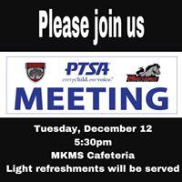 General PTSA Meeting