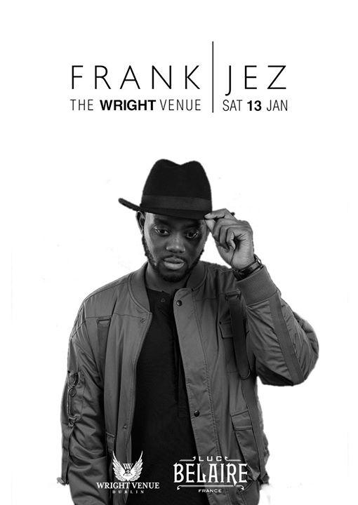 Frank Jez Live at The Wright Venue Sat 13th January 2018