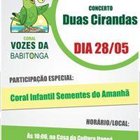 Concerto Duas Cirandas.