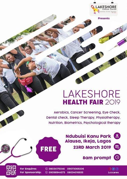 lakeshore health fair