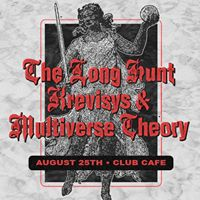 The Long Hunt  Krevisys  Multiverse Theory 825 at Club Cafe