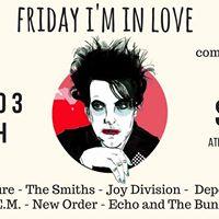 Friday Im In Love com Disordark Vinil Cultura Bar